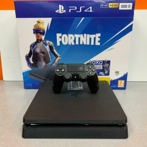 [PS4] Sony PlayStation 4 Slim 500GB Zwart | COMPLEET | nota