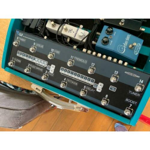 The GigRig G2 pedal switcher + Bank Manager