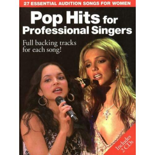 Pop Hits for Professional Singers - Includes 2 CD's